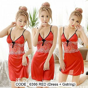 6366 JAZZY RED